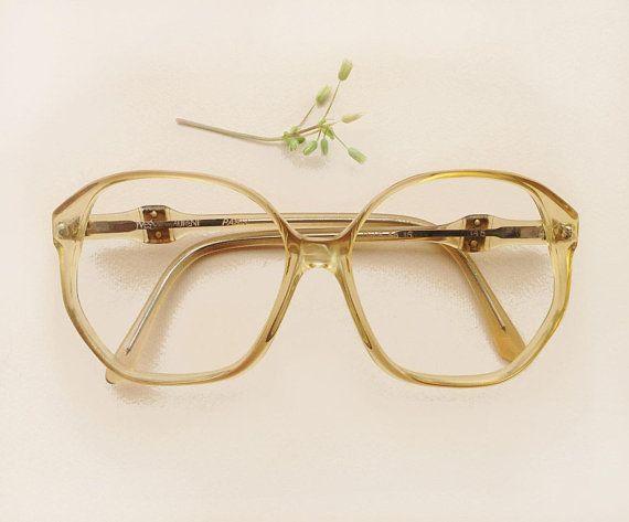 Yves Saint Laurent Square Eyeglass 70s Ysl Vintage Squared Etsy Vintage Glasses Frames Vintage Eyeglasses Vintage Eyewear