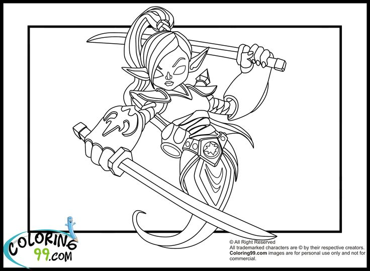 Skylanders Giants Pages To Coloring Pictures Print
