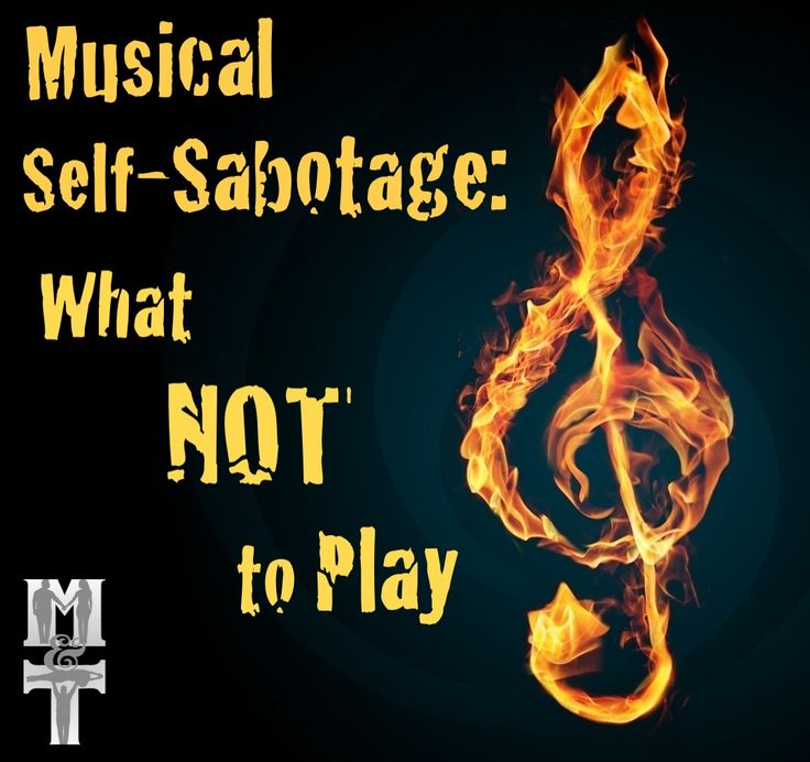 Musical Self-Sabotage: What NOT to Play | Coach's Corner WCS Blog | Myles Munroe and Tessa Cunningham Munroe