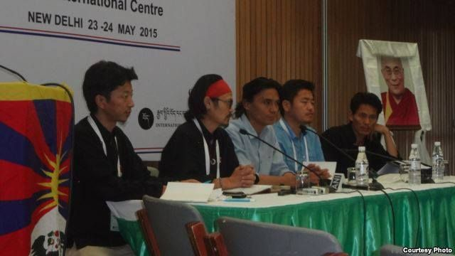"""""""International Rangzen Conference Passes Four Point Resolution"""" The chief guest Dr. Arun Kumar, Indian parliament member and staunch supporter of Tibetan cause inaugurated the 2-day"""