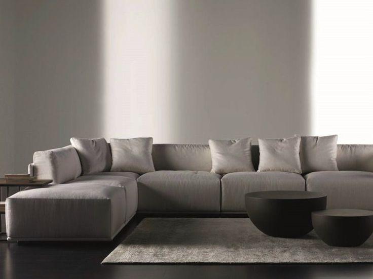 7 seater corner sofa bacon by meridiani 0 d furniture. Black Bedroom Furniture Sets. Home Design Ideas