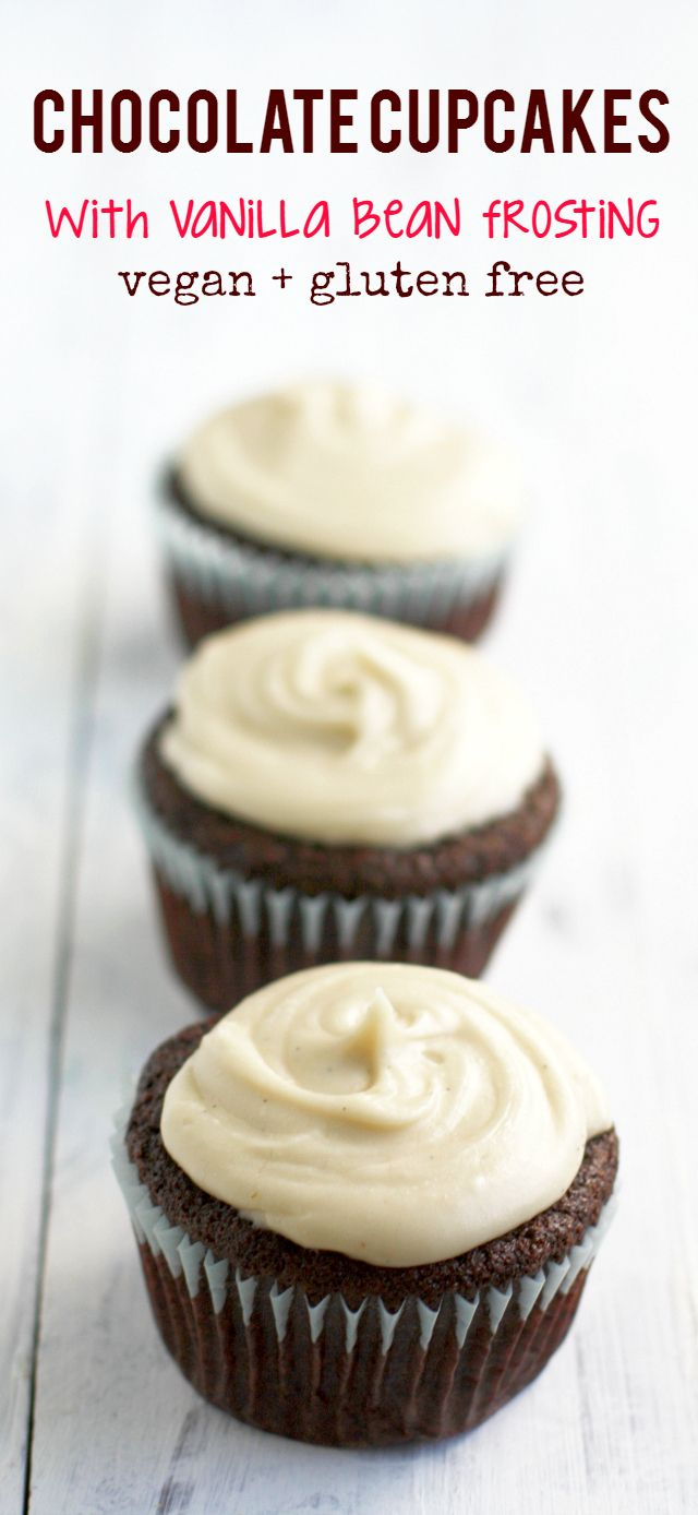 ... | Vegan Chocolate Cupcakes, Chocolate Cupcakes and Vegan Chocolate