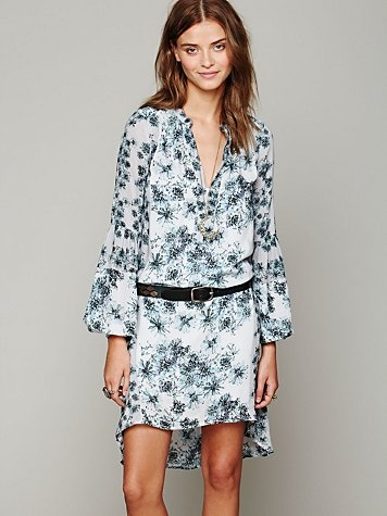 free people peacemaker print dress