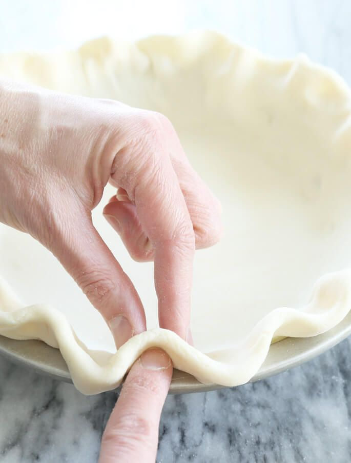 The ultimate step by step guide to how to make the perfect gluten free pie crust. With a dairy-free option, too!