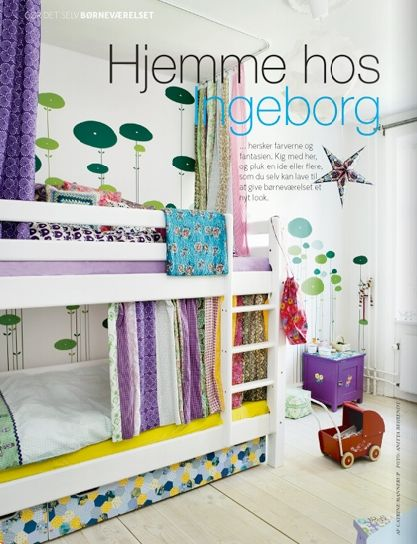 Una habitación infantil escandinava