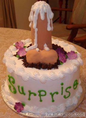 Homme - Gâteau d'anniversaire