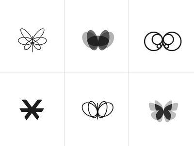 Butterfly - logo piste