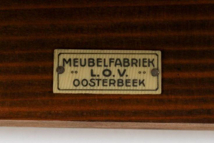 Dutch Oak Art Deco Haagse School Open Bookcase by Frits Spanjaard for L.O.V 6