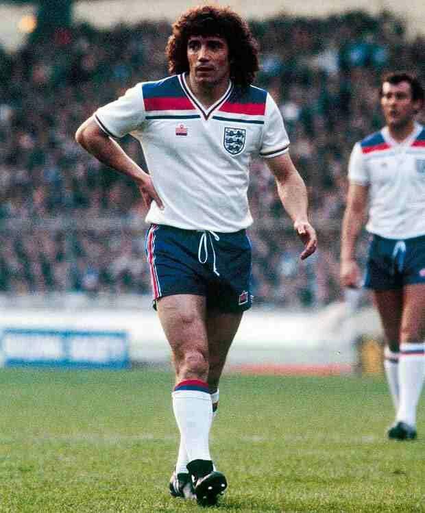 Kevin Keegan of England in 1981.