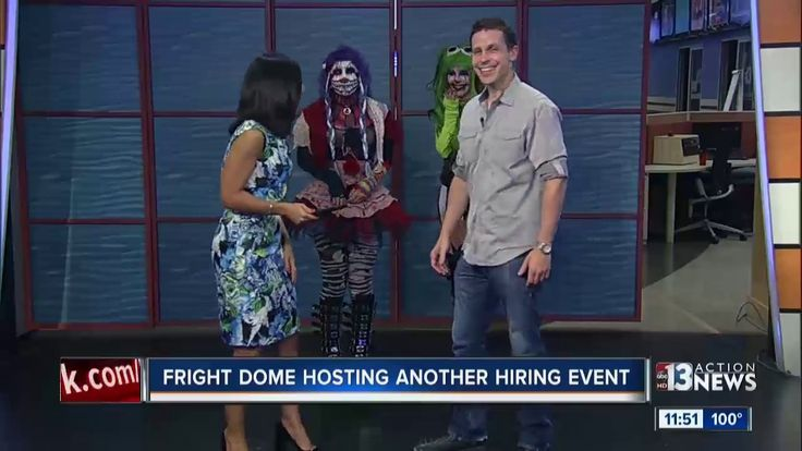 TV News Producer Meagan Gosa is EXTREMELY scared of...