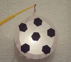 Fußball-Laterne basteln