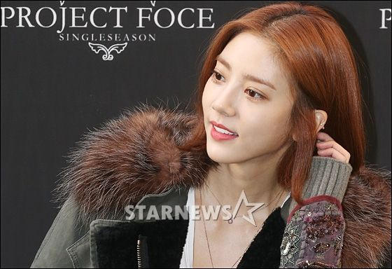 Son DamBi 손담비 141008 : [★포토]손담비 '머리 살짝 넘기고' | Daum 연예