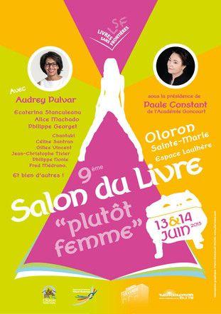 Nouvel article en ligne ! Le Salon du Livre d'Oloron Ste Marie 2015