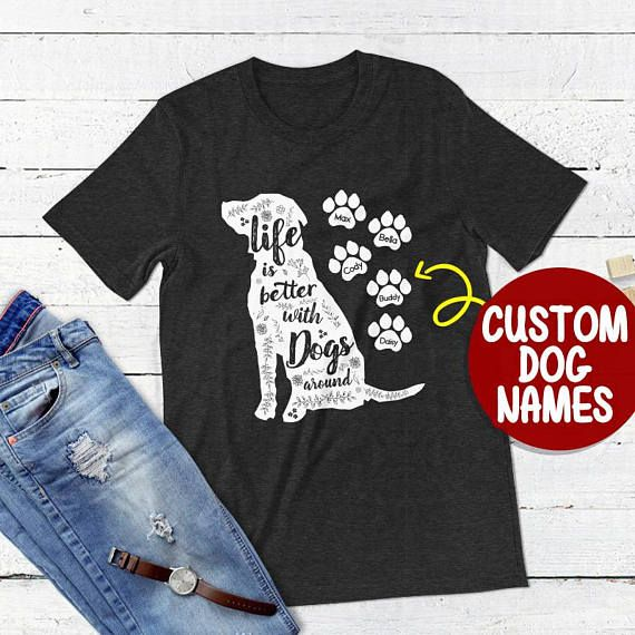 3d845595ebf2 Dog Mama Crazy Dog Lady Rescue Dog Shirt Dog Rescue Shirt Rescue Animal Dog  Mom T-shirt Fur Mama Shirt Rescued Dog Owner Dog Name Shirt
