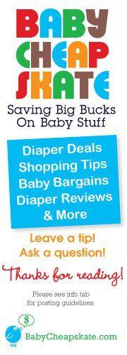 Baby Cheapskate: Saving Big Bucks on Baby Stuff