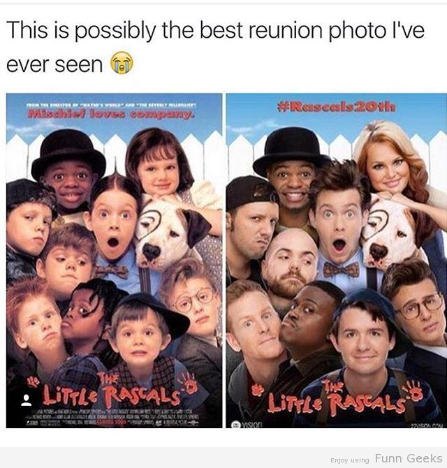 Best Reunion Photo - Funn Geeks #funny #gag #lol #funnyimages #failimages