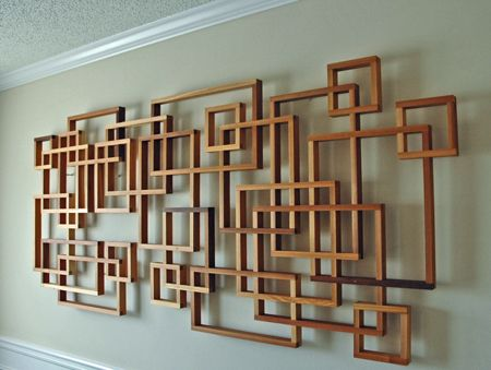 I Like How It S Away From The Wall Yet Still Part Of A And C In 2018 Pinterest Decor Wood Art