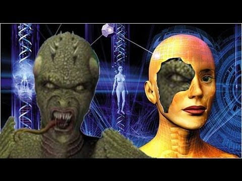Reptilian Hologram Technology