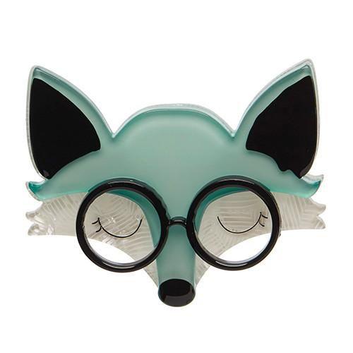 Erstwilder - Emry the Asleep Fox Brooch - 1