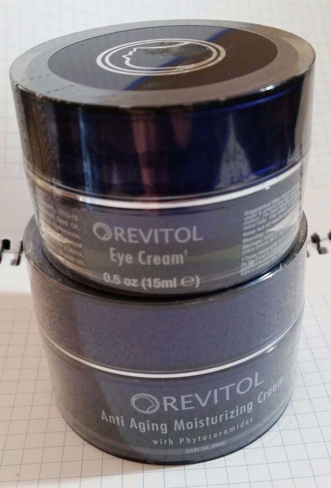REVITOL Eye Cream & Anti Aging Moisturizing Cream w/Phytoceramides #revitol