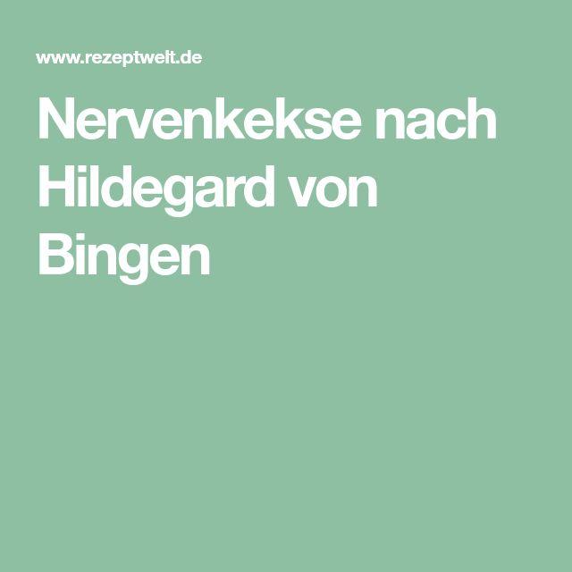 Nervenkekse nach Hildegard von Bingen