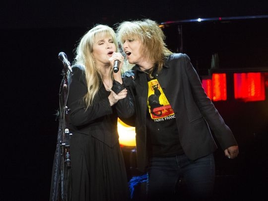 Stevie Nicks is joined by Chrissie Hynde of The Pretenders