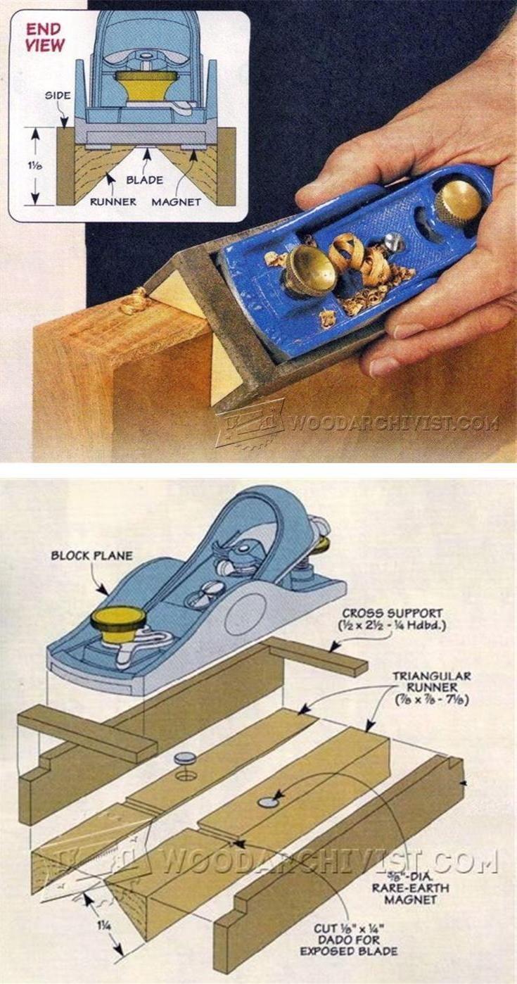 Chamfer Plane DIY - Edging Tips, Jigs and Techniques | WoodArchivist.com