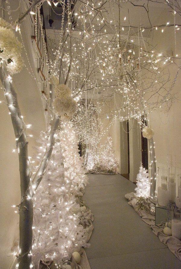 Lighting  Winter wonderland decorations, Winter wonderland