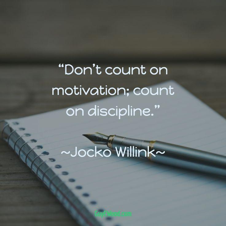 25+ Best Discipline Quotes On Pinterest