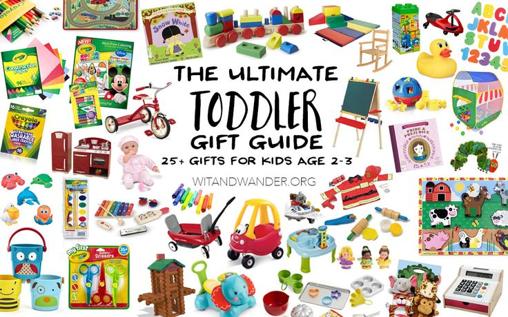 25+ gifts that toddlers (and their parents) will love! They encourage imagination, creativity, pretend play, hand/eye coordination, and whole body movement.