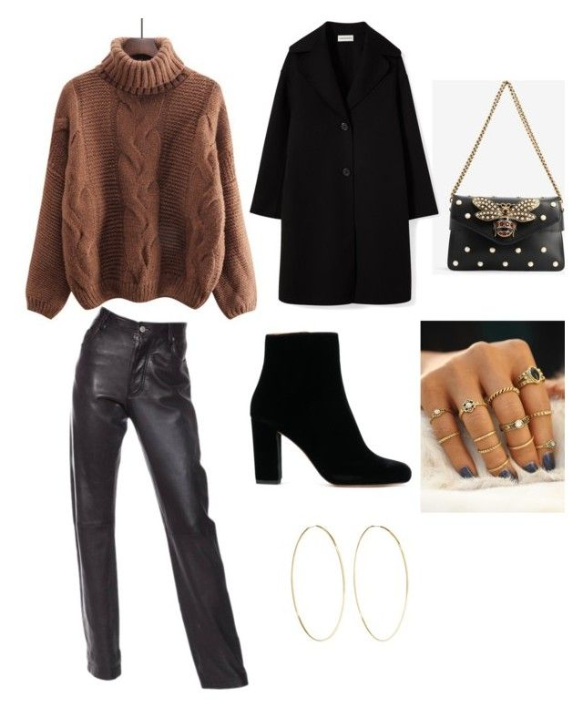 """""""Untitled #153"""" by denisapurple on Polyvore featuring Helmut Lang, Gucci and Magda Butrym"""