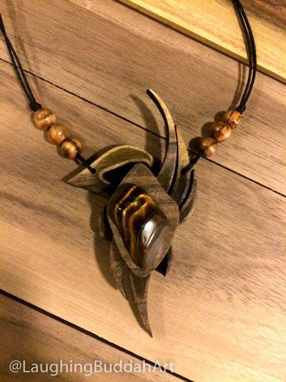 Tribal Tiger Eye Amulet