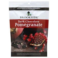 Brookside Dark Chocolate Pomegranate YUM!!!!!   Husband bought me these yesterday love them!