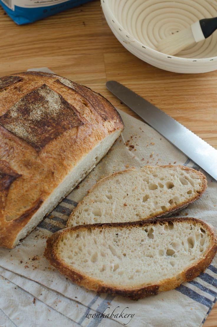 Beginners' sourdough white bread -english version-