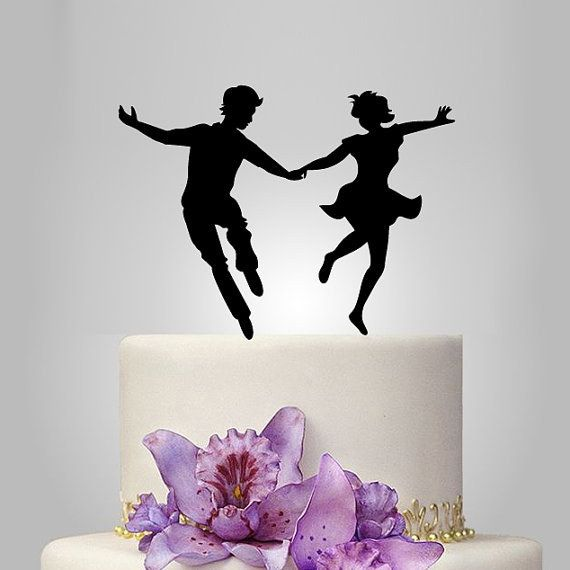 50 Best Cake Silhouette Images On Pinterest Dancing