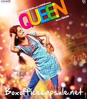 Queen (2014) 2nd Day Box Office Collection   Boxofficecapsule