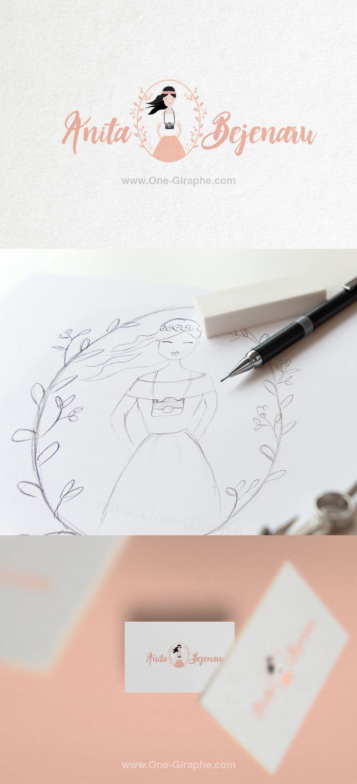 Anita Bejenaru - Photography - Brand Identity - #brandidentity #logo #photography #sweet #cute #portrait #logodesign #design #designer #onegiraphe #portfolio  http://one-giraphe.com/prev.php?c=199