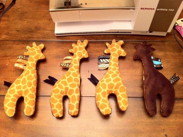 Craftin' It: Tutorial: Baby Toy - Stuffed Giraffe