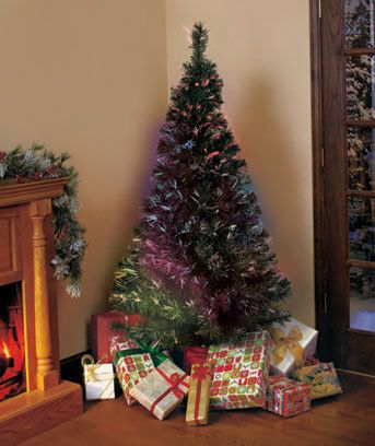 Fiber Optic Christmas Tree Fiber Optic Holiday Tree Comes Ready To Display!  Your Family And Friends Will Love The Rainbow Of Color Changing Light