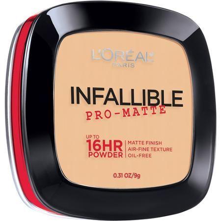 L'Oreal Paris Infallible Pro-Matte Powder, 300 Nude Beige, 0.31 oz