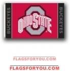 last one - Ohio State Buckeyes 3x5 Single Sided Flag