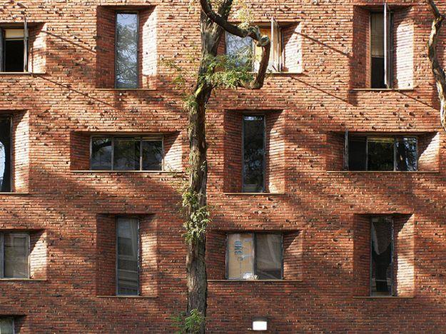 Eero Saarinen, Hill Hall women's dormitories, University of Pennsylvania, Philadelphia, 1957-60
