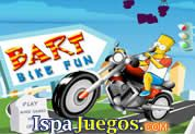 Juego de Bart Bike Fun | JUEGOS GRATIS