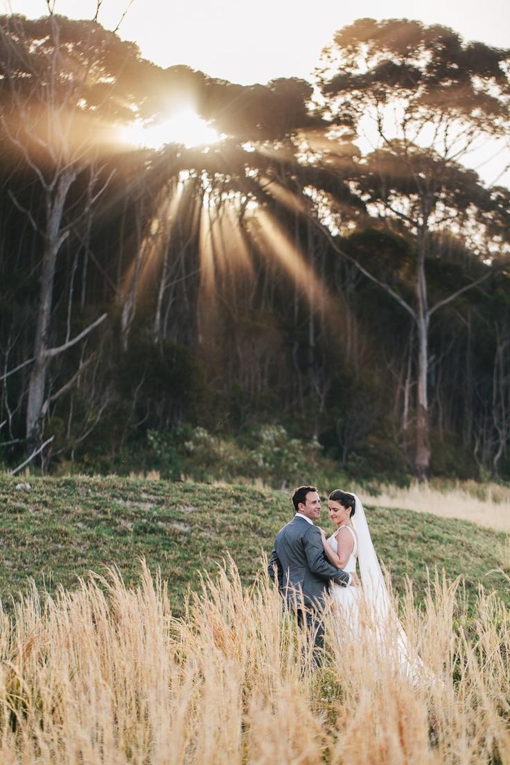 Couple in the Australian Bush