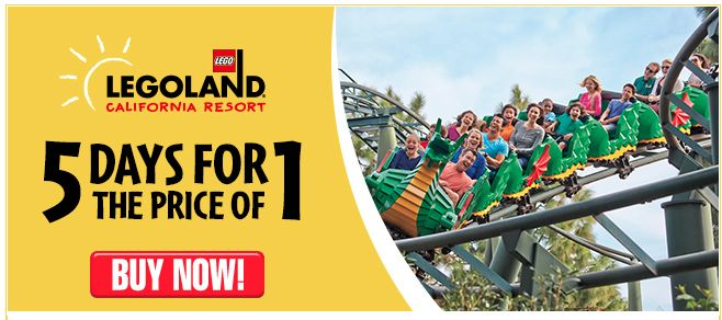 LEGOLAND California: 5 Days for the Price of 1!
