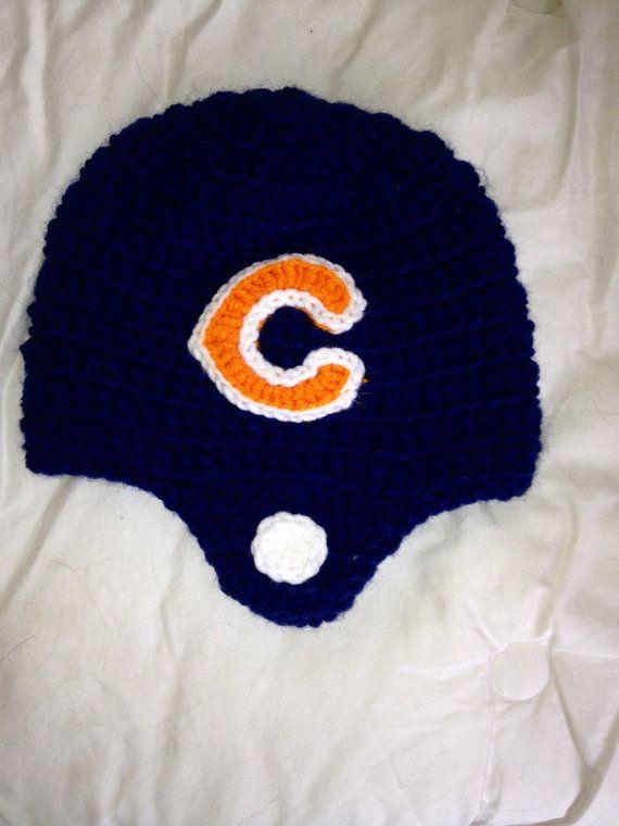 Free Crochet Pattern For Chicago Bears C : 1000+ images about Crochet Chicago Bears on Pinterest