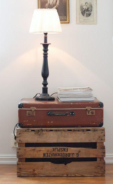 24 besten DIY Vintage Koffer Tisch Ideen prokitchenidea.in