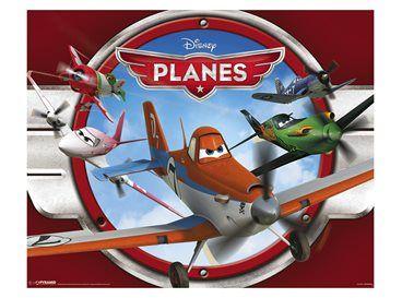 Is jouw stoere mannetje helemaal fan van vliegtuigen? Dan vind hij deze poster van Disney Planes vast ook geweldig! Hang hem op aan de muur boven zijn bed!