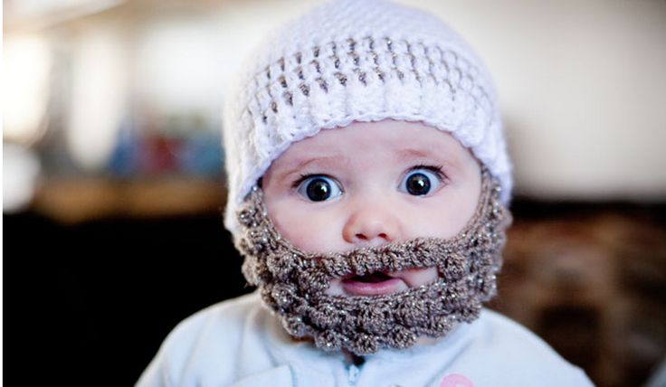Bobble Crochet Beard Beanies, and cabbage patch girls hats too!