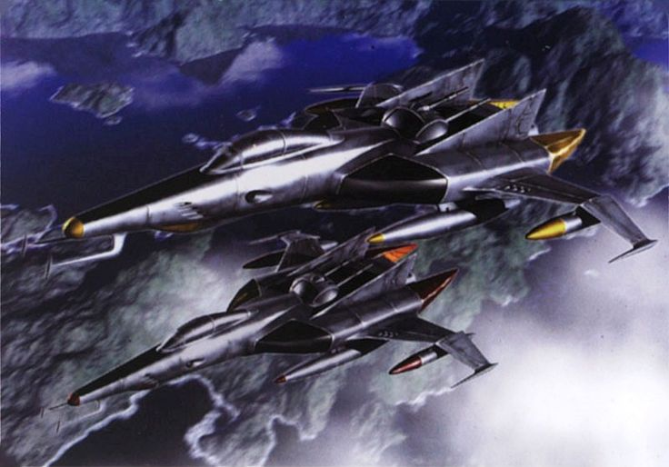 Cosmo Tigers, starfighters from Space Battleship Yamato (aka the Argo from Starblazers)